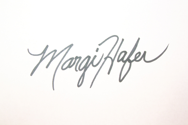 Margi Hafer's Signature