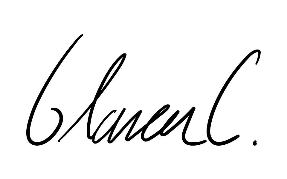 Blanca Cardenas's Signature