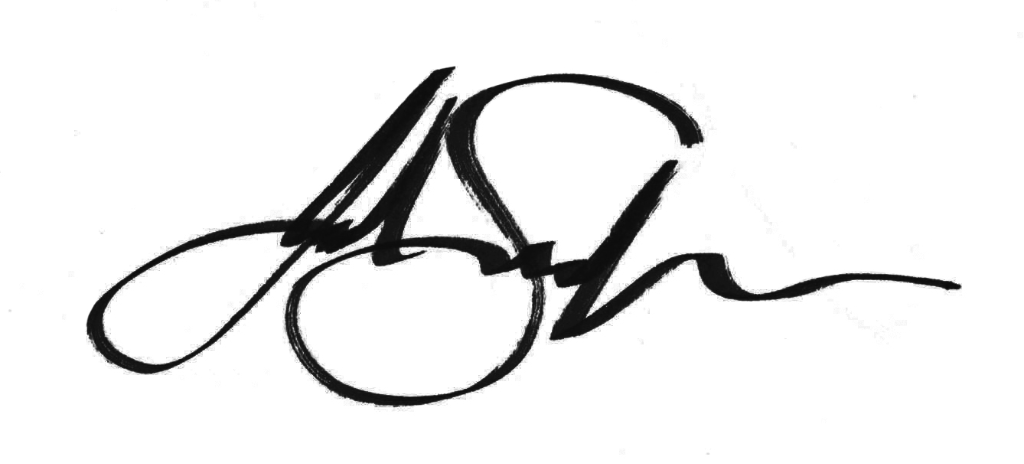 Julie Sneeden's Signature