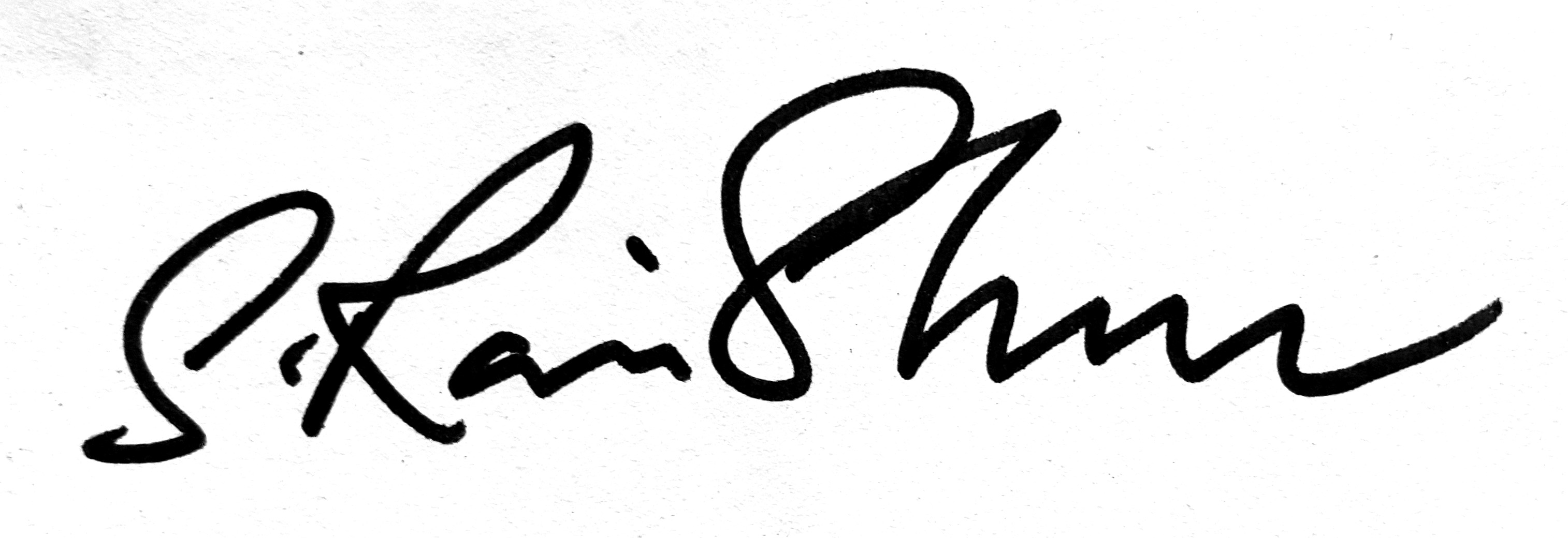 Ravi Shankar Subramaniam's Signature