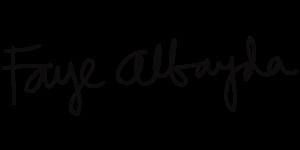 Faye Albayda's Signature