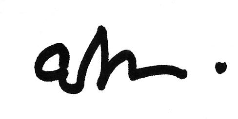 E.  Dominic  Black's Signature