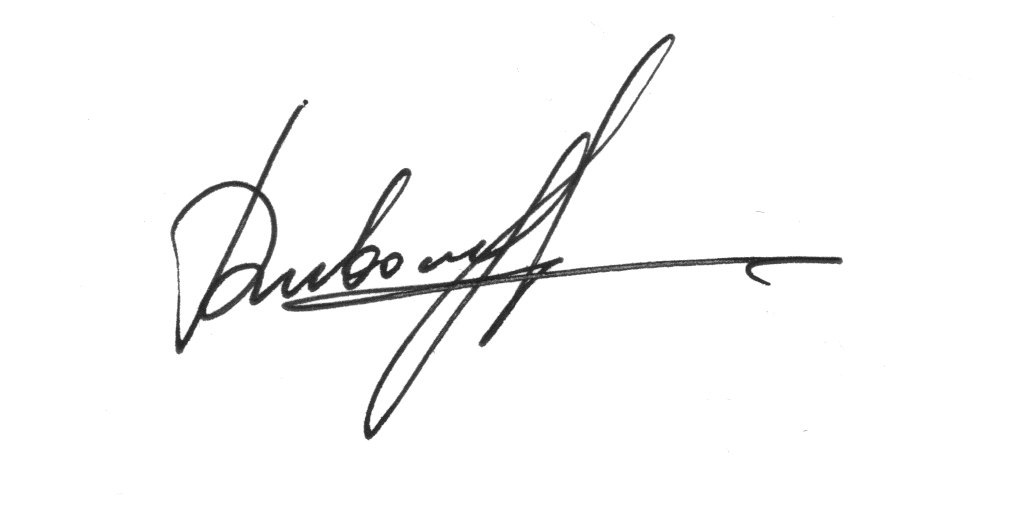 Julia Dubovyk's Signature