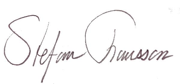 Stefan Fransson's Signature