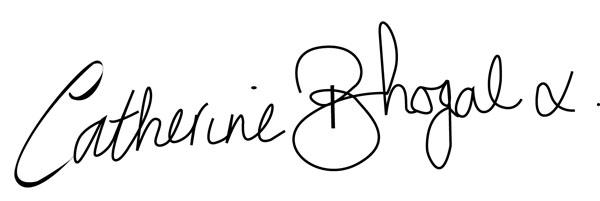 Catherine Bhogal's Signature