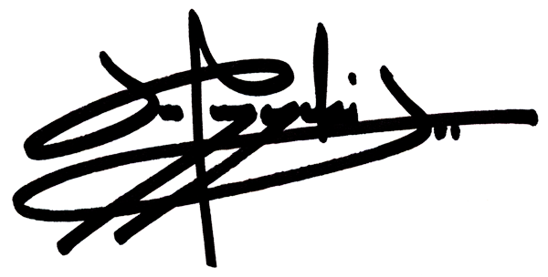 Joe Pozerycki Jr.'s Signature