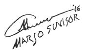 Marjo Suvisor's Signature