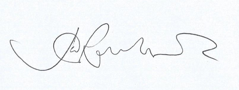 Julia Rowlands's Signature