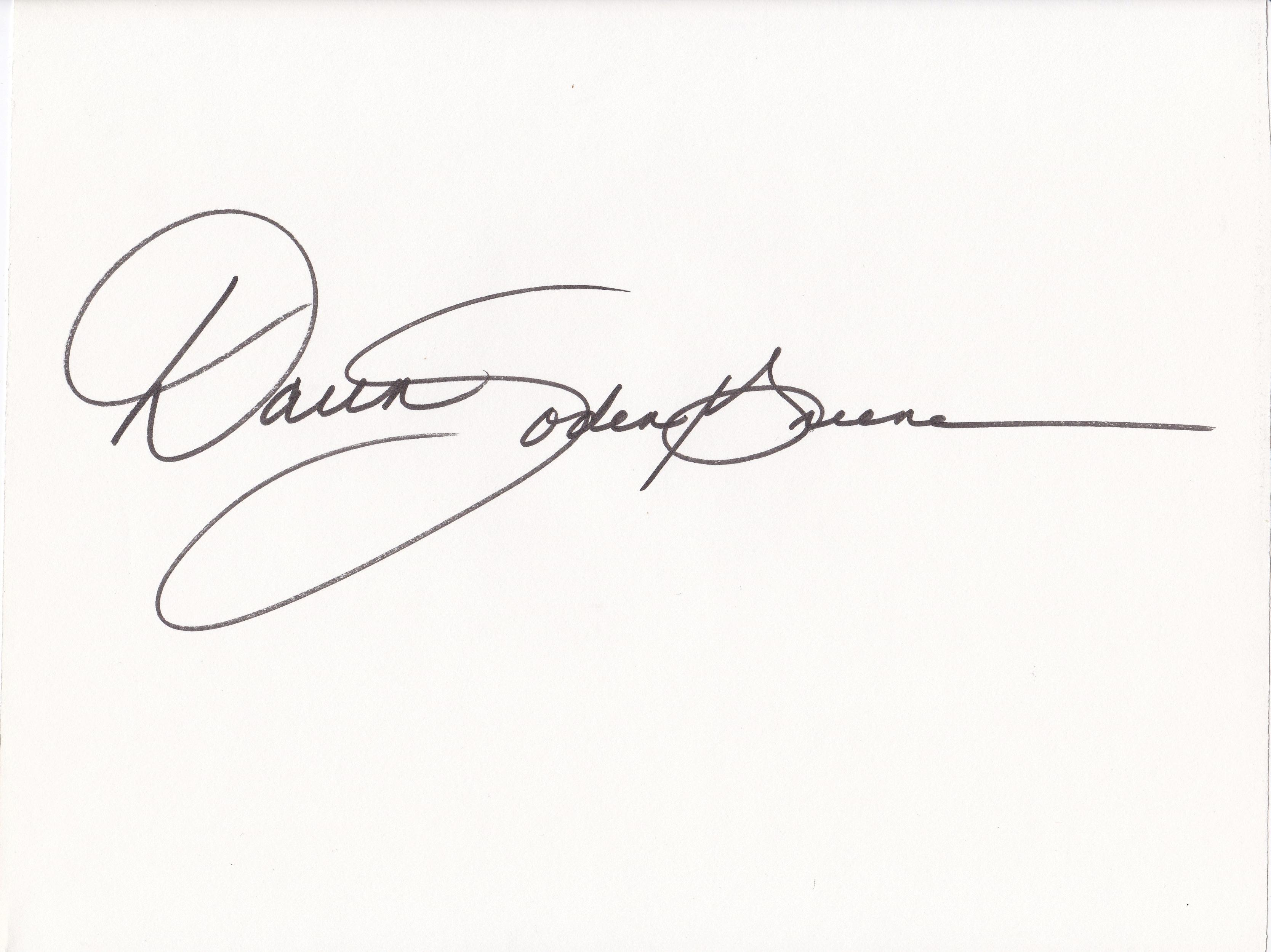 Daun Soden-Greene's Signature