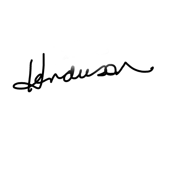 Sheila Henderson's Signature