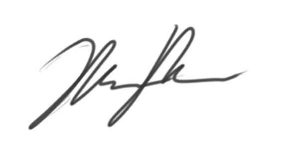 Michael McMahon's Signature