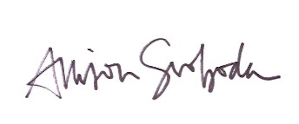 Allison Svoboda's Signature