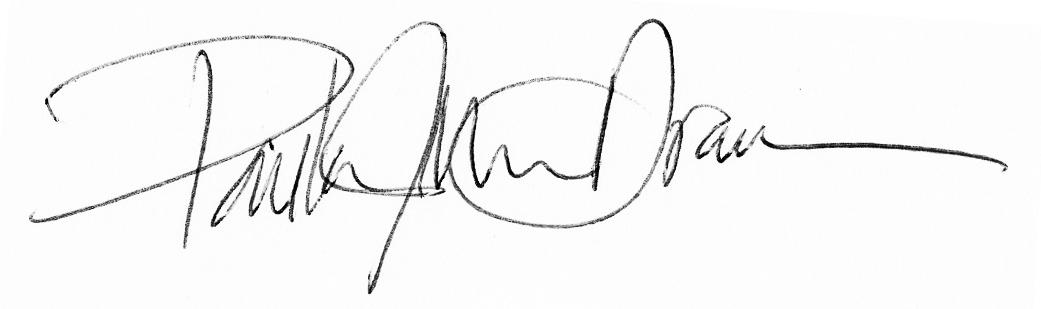Paula Moss Dramm's Signature