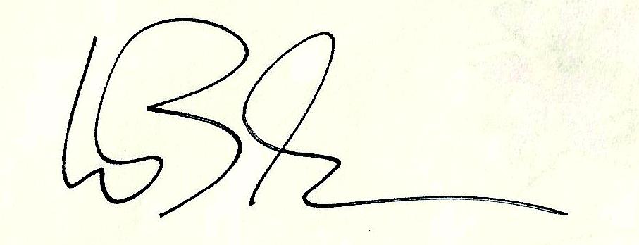 Wilhelm Bleckmann's Signature