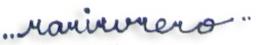 Angela Rari's Signature