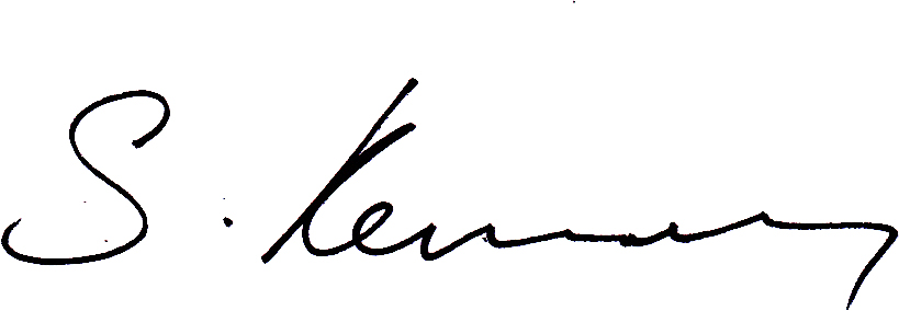 Simon Kennedy's Signature