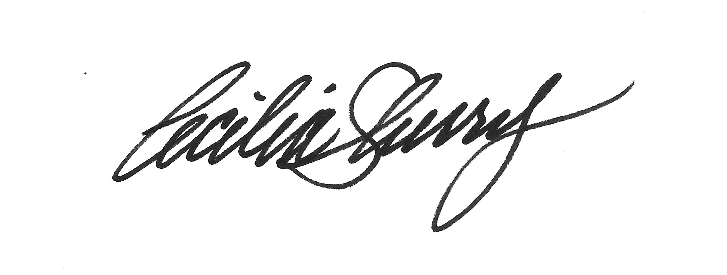 Cecilia Sherry's Signature