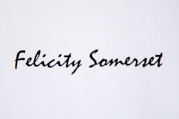 Felicity Somerset's Signature