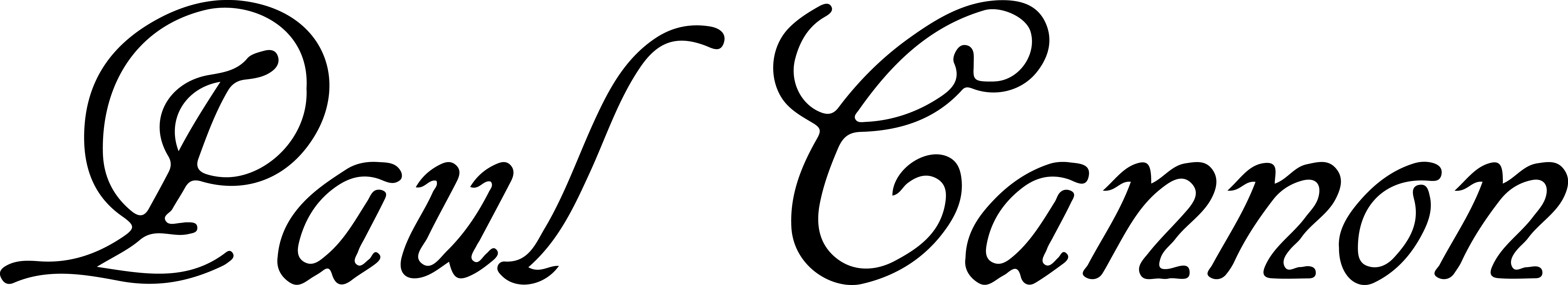 Paul Cannon's Signature