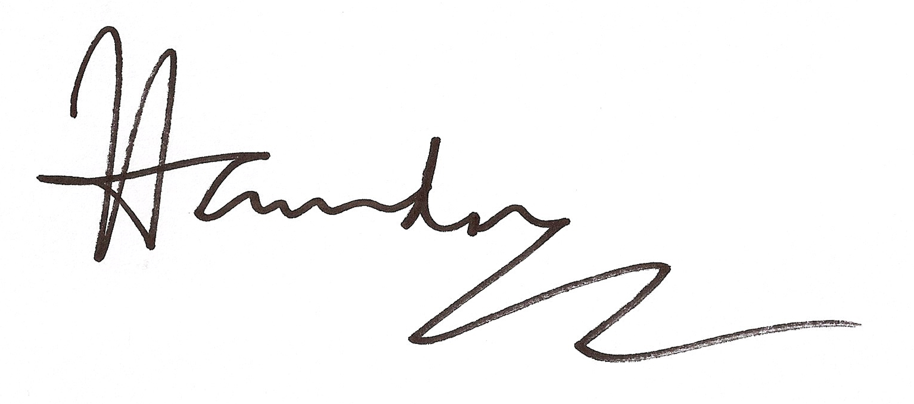 Paul Hawdon's Signature