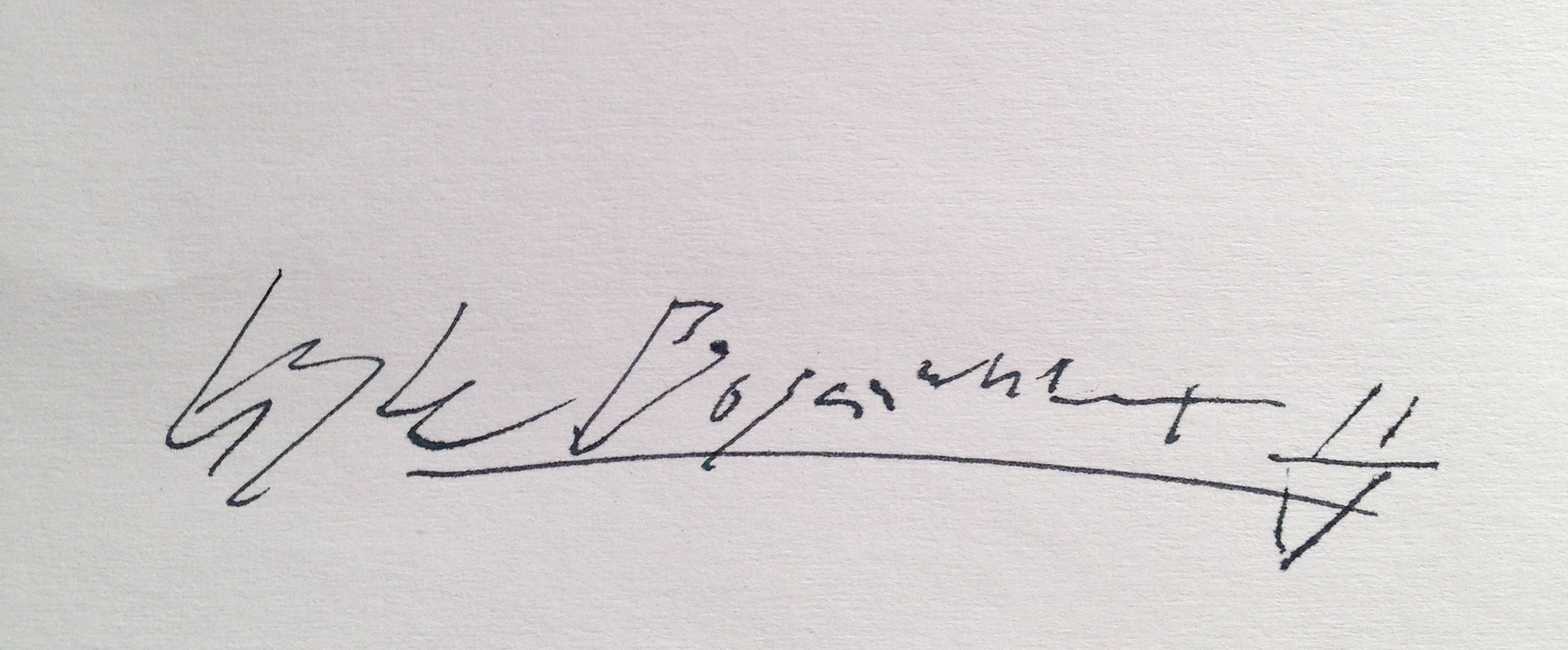Kyle Boganwright's Signature
