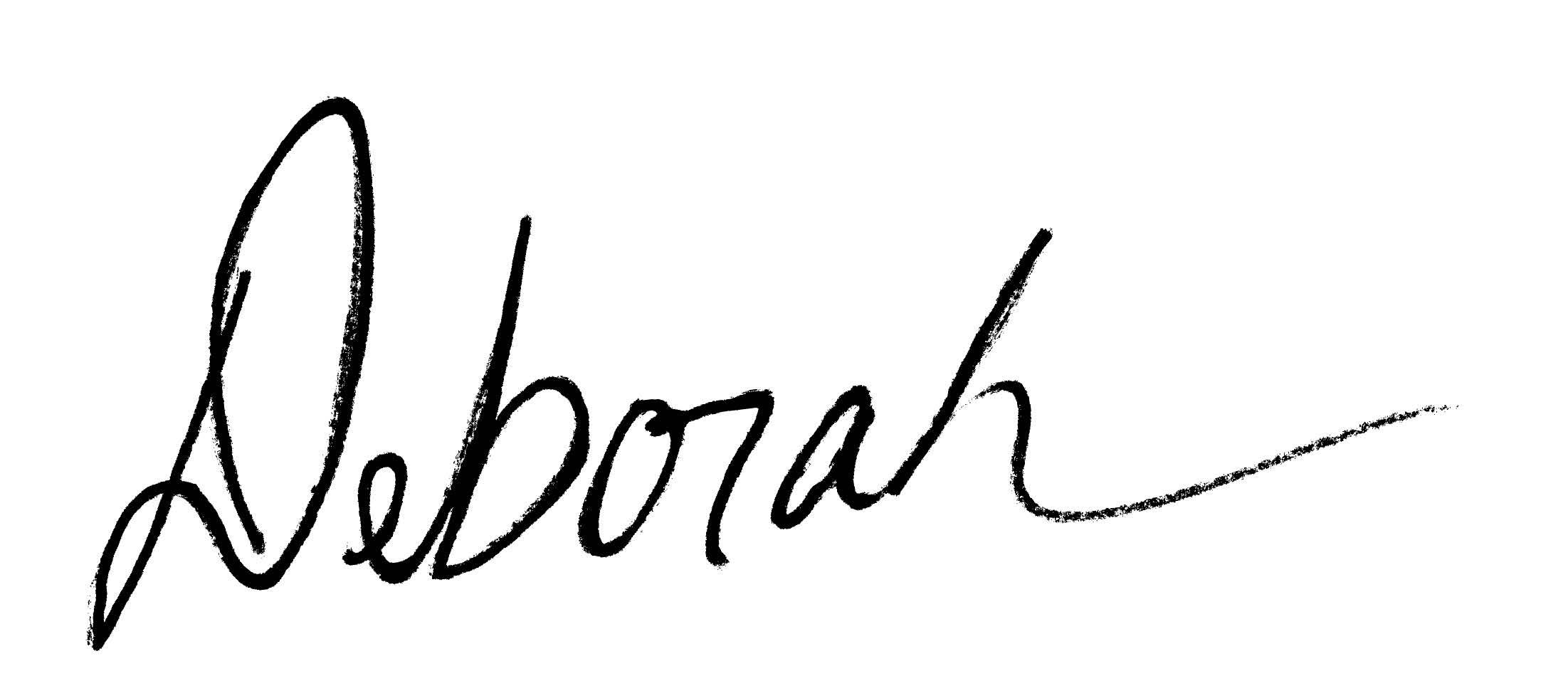 Deborah Little Bear's Signature