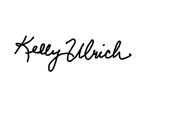 Kelly Ulrich's Signature