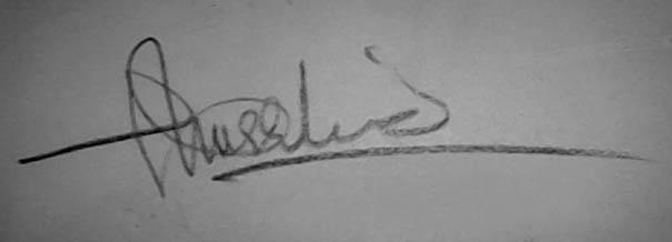 Khurshid anwar khattak's Signature
