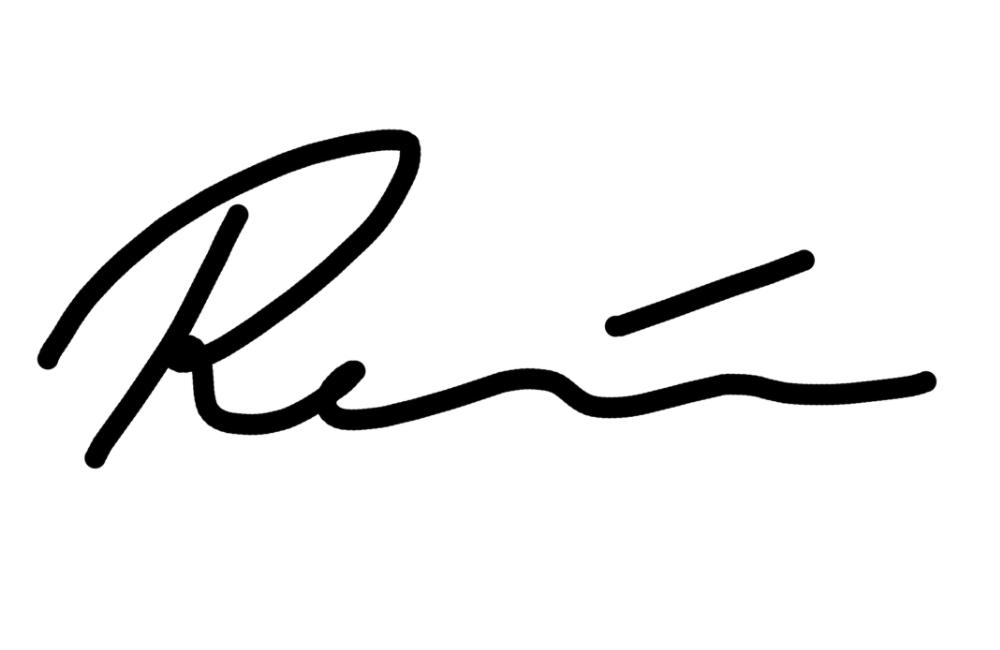Renee Back's Signature