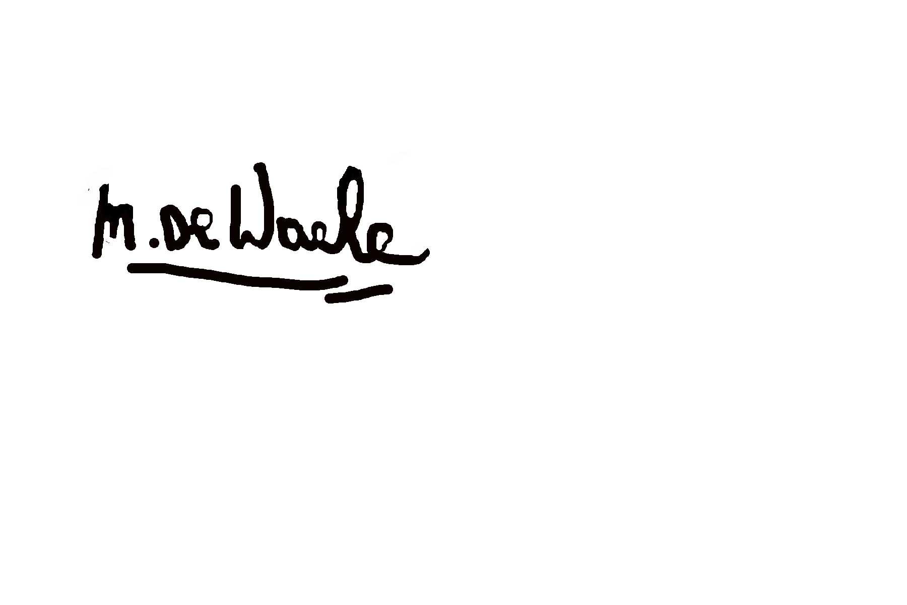27071960 marleen De Waele- De Bock's Signature