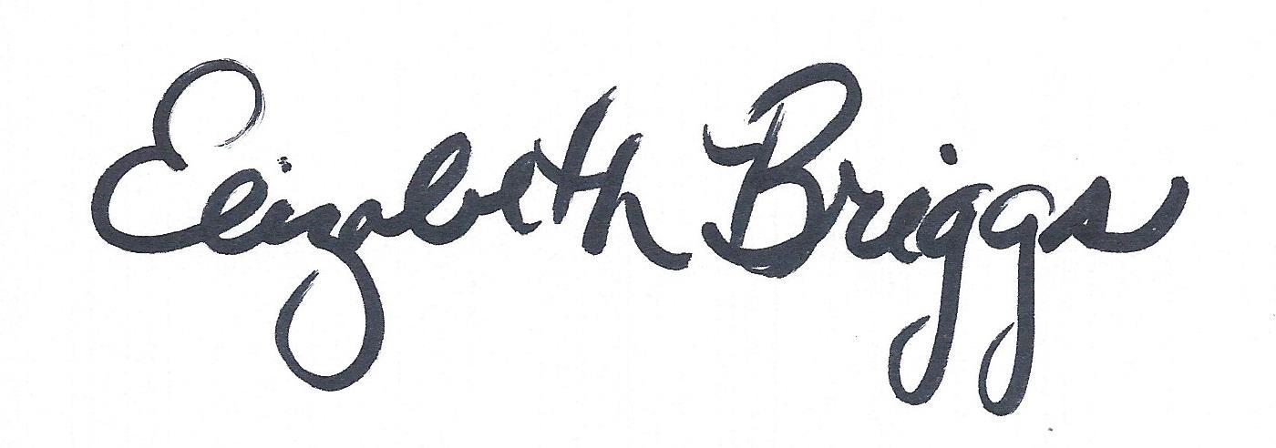 Elizabeth Briggs's Signature