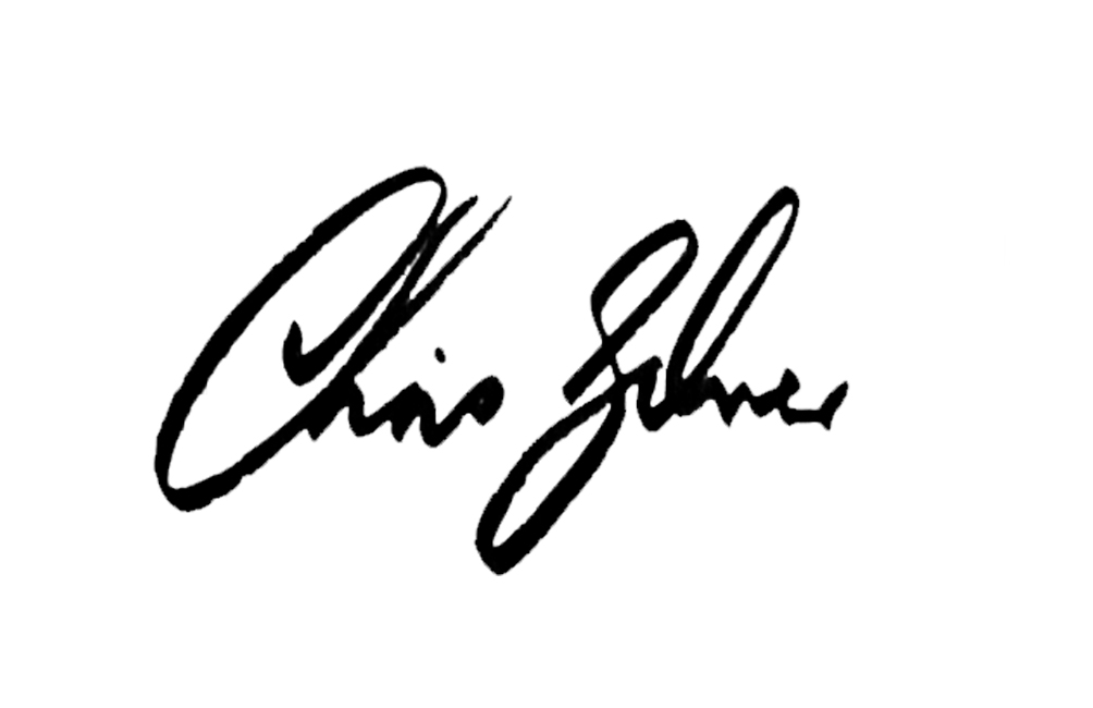 Chris Silver's Signature