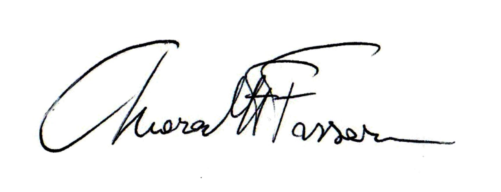 Chiara Fassari's Signature