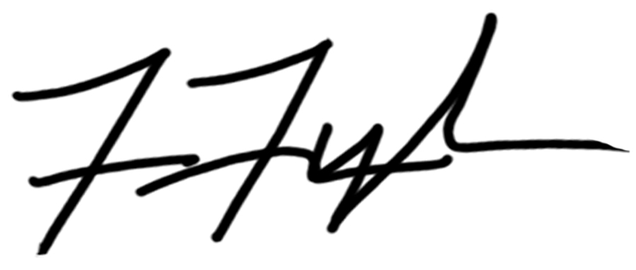Frances Tyler's Signature