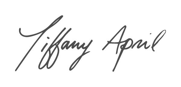 Tiffany April's Signature