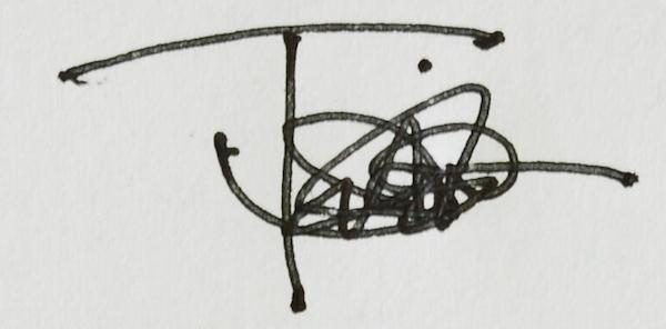 Thomas Miller's Signature