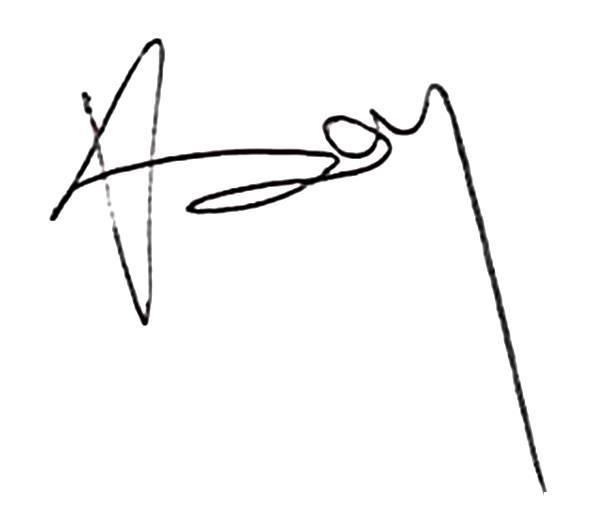 Imola Veres's Signature
