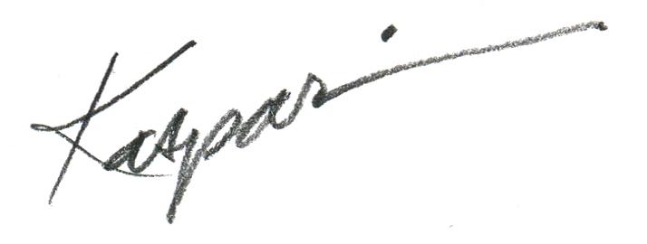 Debby Kaspari's Signature
