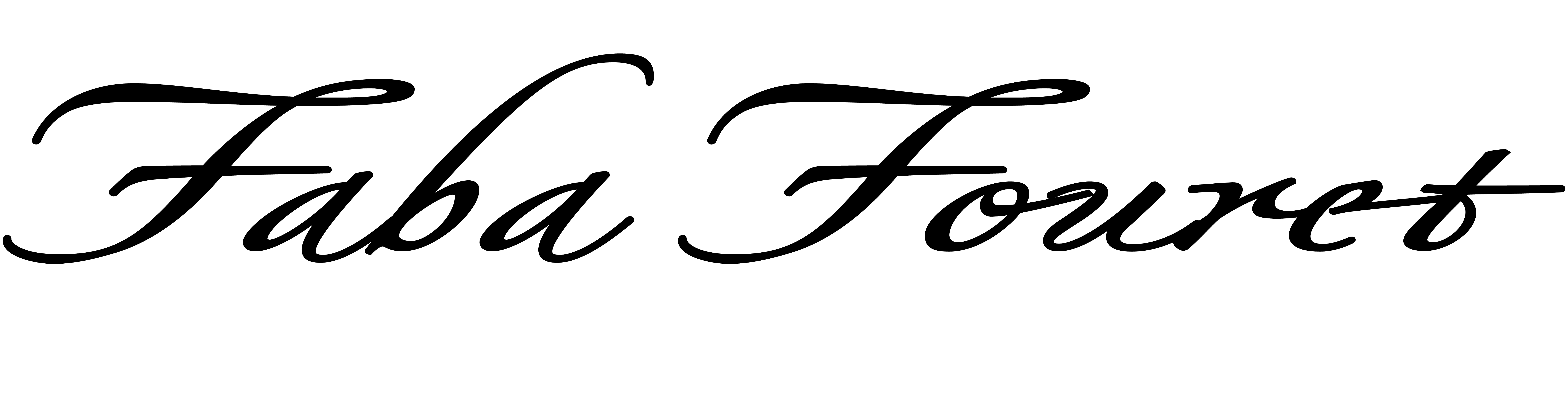 faba fouret's Signature