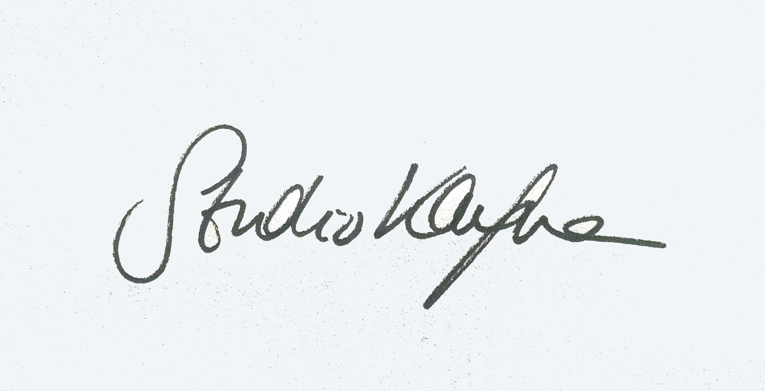 Emma Kaufmann's Signature