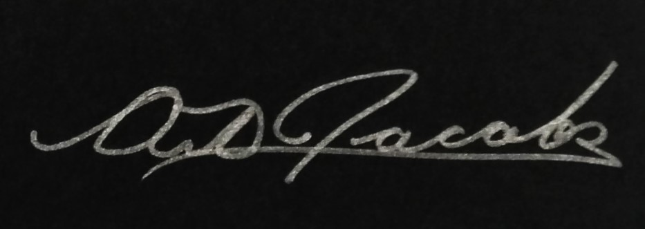 Art Jacobs's Signature