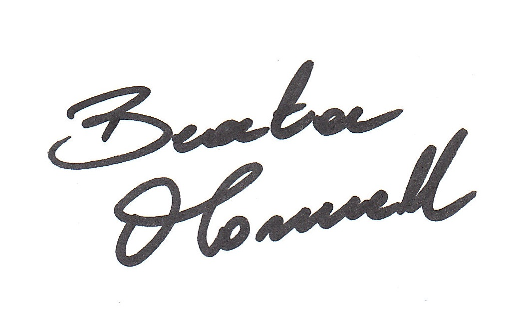 Beata O'Connell's Signature