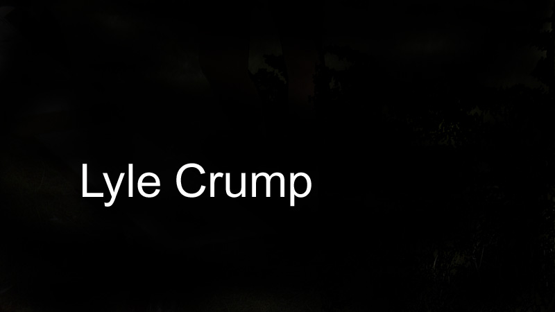 Lyle Crump's Signature