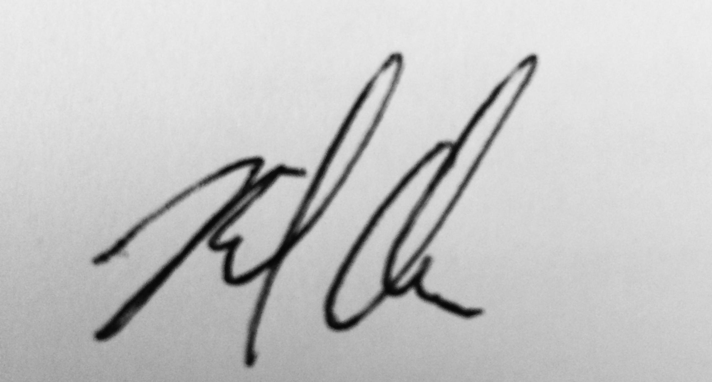 Michael Chabler's Signature