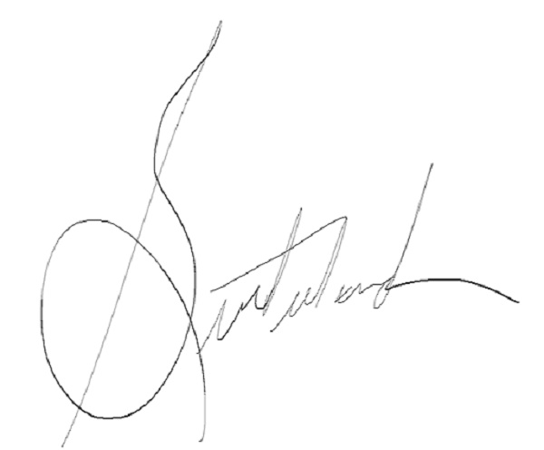 Timothy Sutherland's Signature