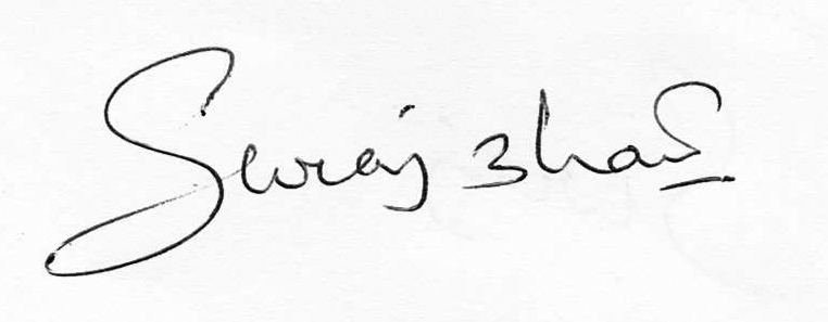 SURAJKUMAR BHATT's Signature
