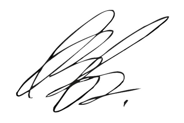 Ann-Christine Baetge's Signature
