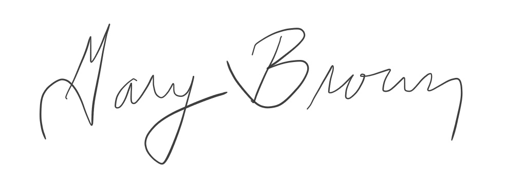 Gary Brown's Signature