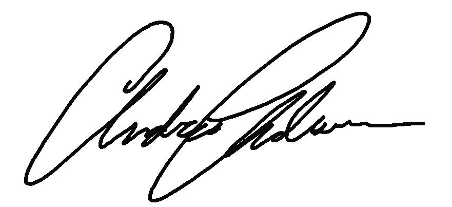 Andrea Anderson's Signature