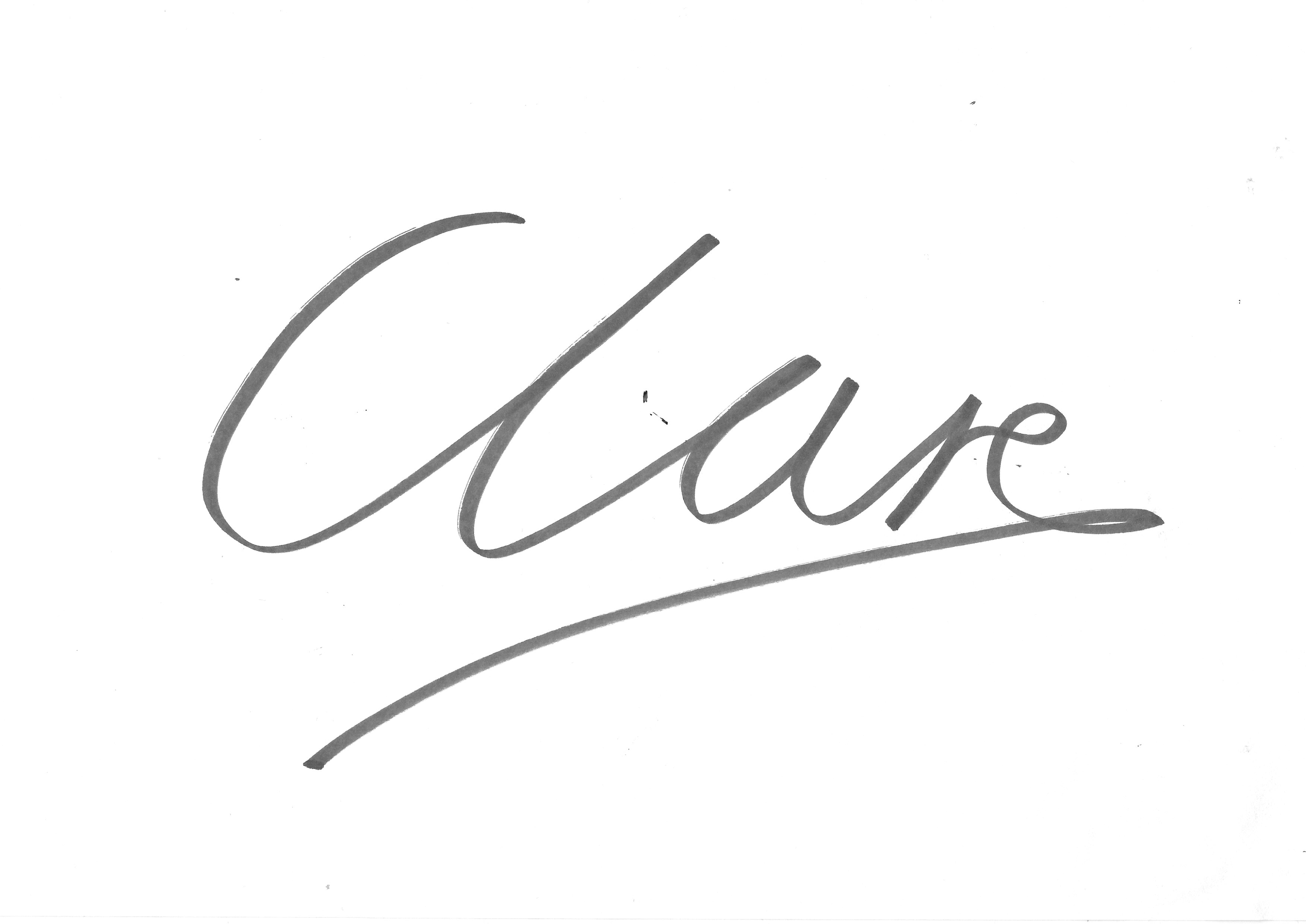 Clare Windass's Signature